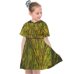 Rasta Forest Rastafari Nature Kids  Sailor Dress