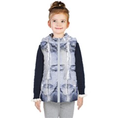 Girl Water Natural Hair Wet Bath Kid s Hooded Puffer Vest