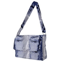 Girl Water Natural Hair Wet Bath Full Print Messenger Bag