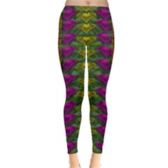 Butterfly Liana Jungle And Full Of Leaves Everywhere Leggings