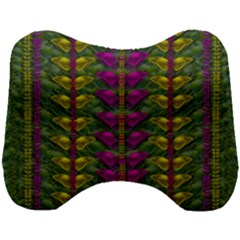 Butterfly Liana Jungle And Full Of Leaves Everywhere Head Support Cushion by pepitasart