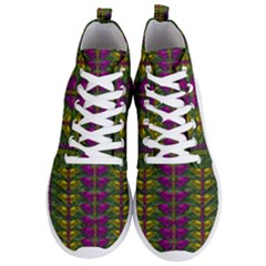 Butterfly Liana Jungle And Full Of Leaves Everywhere Men s Lightweight High Top Sneakers