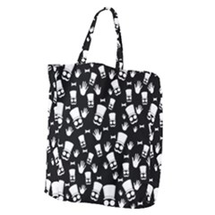 Gentleman Pattern Giant Grocery Tote