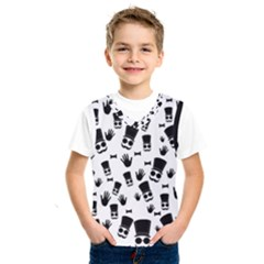 Gentleman Pattern Kids  Sportswear