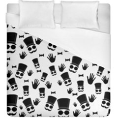 Gentleman Pattern Duvet Cover (king Size)