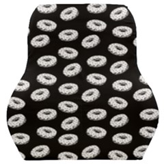 Donuts Pattern Car Seat Back Cushion  by Valentinaart