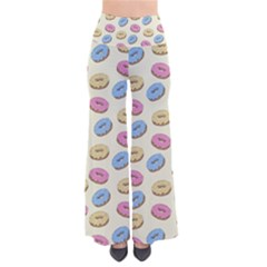 Donuts Pattern So Vintage Palazzo Pants by Valentinaart