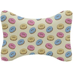 Donuts Pattern Seat Head Rest Cushion by Valentinaart