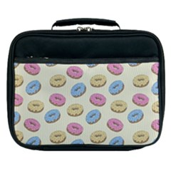 Donuts Pattern Lunch Bag by Valentinaart