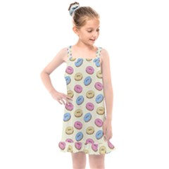 Donuts Pattern Kids  Overall Dress