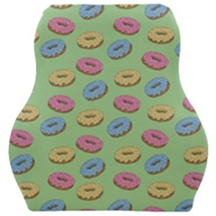 Donuts Pattern Car Seat Velour Cushion  by Valentinaart