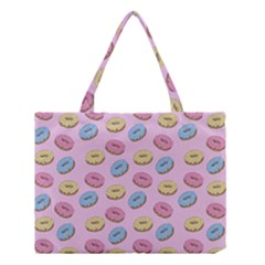 Donuts Pattern Medium Tote Bag by Valentinaart
