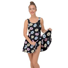 Donuts Pattern Inside Out Casual Dress