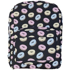 Donuts Pattern Full Print Backpack by Valentinaart