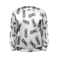 Pineapple Pattern Women s Sweatshirt