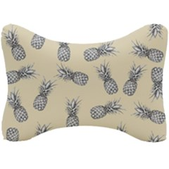 Pineapple Pattern Seat Head Rest Cushion by Valentinaart