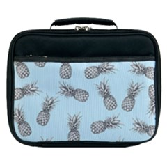 Pineapple Pattern Lunch Bag by Valentinaart