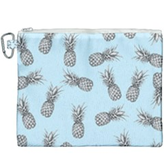 Pineapple Pattern Canvas Cosmetic Bag (xxxl) by Valentinaart