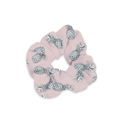 Pineapple Pattern Velvet Scrunchie