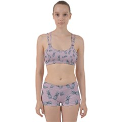 Pineapple Pattern Perfect Fit Gym Set