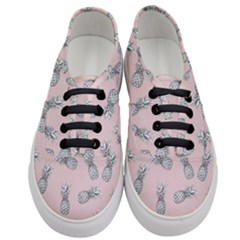 Pineapple Pattern Women s Classic Low Top Sneakers