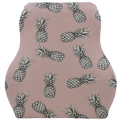 Pineapple Pattern Car Seat Velour Cushion  by Valentinaart