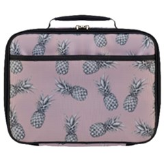 Pineapple Pattern Full Print Lunch Bag by Valentinaart