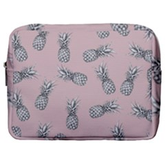 Pineapple Pattern Make Up Pouch (large)