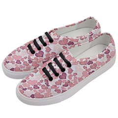 Sparkling Hearts 181 Women s Classic Low Top Sneakers by MoreColorsinLife