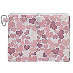 Sparkling Hearts 181 Canvas Cosmetic Bag (xxl)