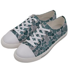 Sparkling Hearts 182 Women s Low Top Canvas Sneakers by MoreColorsinLife