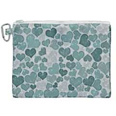 Sparkling Hearts 182 Canvas Cosmetic Bag (xxl) by MoreColorsinLife