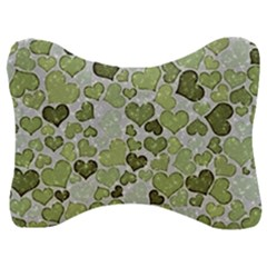 Sparkling Hearts 183 Velour Seat Head Rest Cushion
