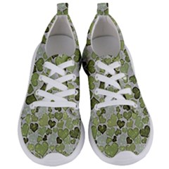 Sparkling Hearts 183 Women s Lightweight Sports Shoes