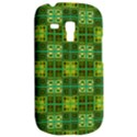 Mod Yellow Green Squares Pattern Samsung Galaxy S3 MINI I8190 Hardshell Case View2