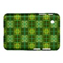 Mod Yellow Green Squares Pattern Samsung Galaxy Tab 2 (7 ) P3100 Hardshell Case  View1