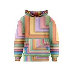 Colorful Wallpaper Abstract Kids  Pullover Hoodie