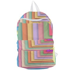 Colorful Wallpaper Abstract Foldable Lightweight Backpack