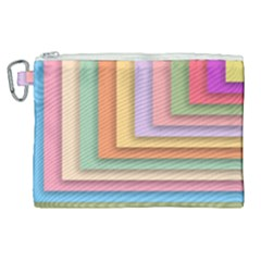 Colorful Wallpaper Abstract Canvas Cosmetic Bag (xl)
