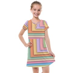 Colorful Wallpaper Abstract Kids  Cross Web Dress