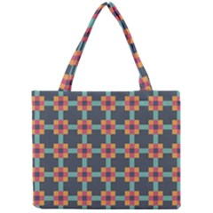 Abstract Background Mini Tote Bag