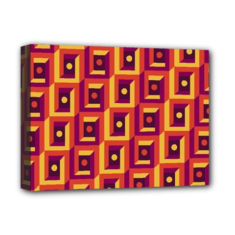 Abstract Background Deluxe Canvas 16  X 12  (stretched)