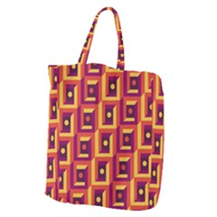 Abstract Background Giant Grocery Tote