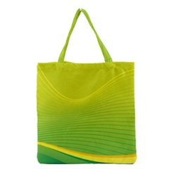 Background Color Fresh Beautiful Grocery Tote Bag