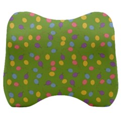 Balloon Grass Party Green Purple Velour Head Support Cushion