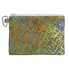 Art 3d Windows Modeling Dimension Canvas Cosmetic Bag (xl) by Simbadda