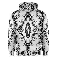 Holbein Floriated Antique Scroll Men s Overhead Hoodie