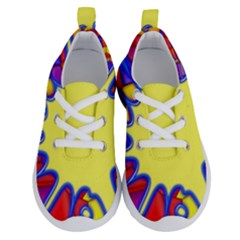 Embroidery Dab Color Spray Running Shoes by Simbadda