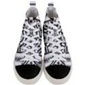Monastic Antique Scroll Fruit Men s Mid-Top Canvas Sneakers View1