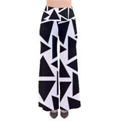 Black Triangle So Vintage Palazzo Pants